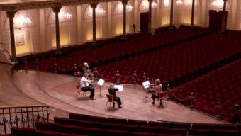 """""""Empty Concertgebouw"""" session"""